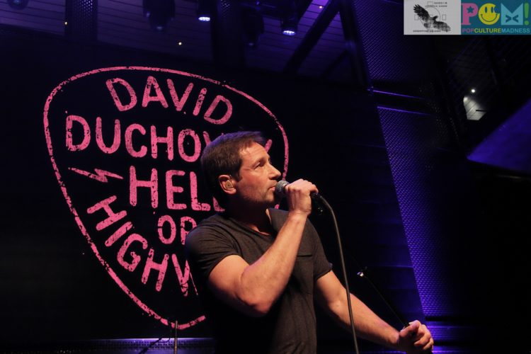David Duchovny Music Box San Diego Review